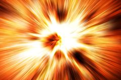Explosion fire texture. Nice explosion texture generated by the computer Stock Photos