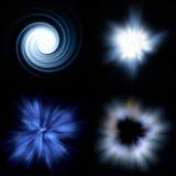 explosion galaxy διανυσματική απεικόνιση