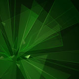 Explosion green Stock Images