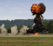 Explosion haute et en forme de coeur de passage Photographie stock