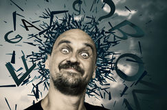 Explosion of ideas Royalty Free Stock Photography