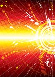 Explosion infinity space. Vector file of Explosion infinity space background Stock Image