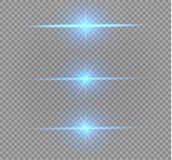 Explosion légère rougeoyante blanche d'éclat sur le fond transparent Décoration d'effet de la lumière d'illustration de vecteur a Photos stock