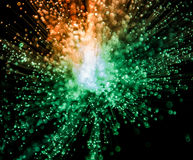 Explosion of Light Stock Image