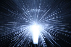Explosion Of Light Royalty Free Stock Images