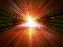 Explosion of light, blast Stock Images