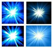explosion lights ray set Στοκ Εικόνες