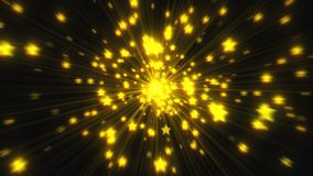 Explosion of many stars with gloss, 3d render computer generated backdrop. Explosion of many stars with gloss, 3d rendering computer generated backdrop vector illustration