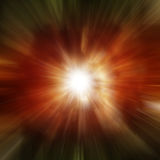 Explosion of red galaxy Royalty Free Stock Photography