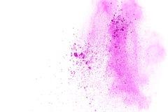 Explosion rose de poudre illustration libre de droits