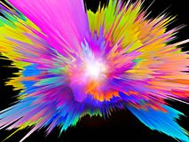 Color Burst Royalty Free Stock Photo