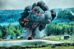 Explosion Royalty Free Stock Images