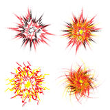Explosion Star Royalty Free Stock Images