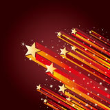 Explosion star background Stock Images