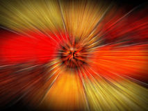 Explosion study. Of form and light Royalty Free Stock Images