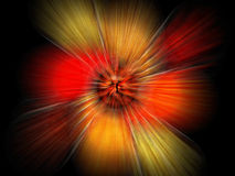 Explosion study. Of form and light Royalty Free Stock Photography