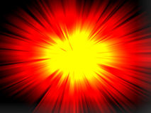 Explosion texture. Generated by the computer Royalty Free Stock Photography