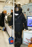 Explosion une tenue de protection FSB Images libres de droits