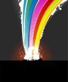 explosion vector Стоковые Изображения