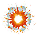 Explosion. Vector-Illustration Royalty Free Stock Photography