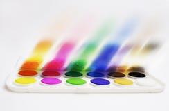 Explosion von Farben lizenzfreie stockfotos