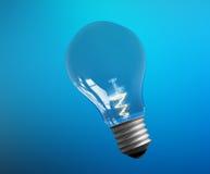 Explosion von Ideen Lampen - Schablone farbe Stockfotos