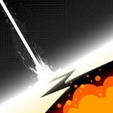 Explosionabbildung stock abbildung
