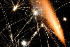 Explosionen Stockbild