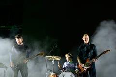 Explosionen im instrumentellen Rockband des Himmels führen im Konzert an Primavera-Ton 2016 durch Lizenzfreies Stockfoto