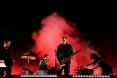 Explosionen im instrumentellen Rockband des Himmels führen im Konzert an Primavera-Ton 2016 durch Lizenzfreie Stockfotografie