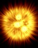 Explosiones 2 del rayo Fotos de archivo libres de regalías