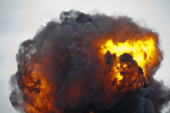Explosionfireball Royaltyfria Bilder