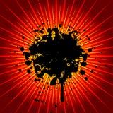explosiongrunge Arkivbilder