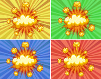 Explosions Royalty Free Stock Images