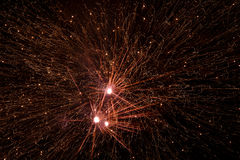 Explosions de feux d'artifice Photos libres de droits