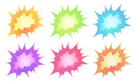 Explosions Royalty Free Stock Photography