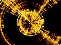 Explosions-Rotations-Abstraktion Lizenzfreie Stockfotos