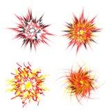 explosionstjärna Royaltyfria Bilder