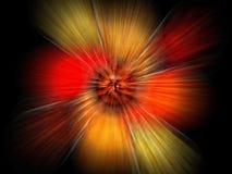 explosionstudy vektor illustrationer