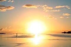 explosiv sun Royaltyfria Bilder