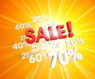 Explosiva Sale Stock Illustrationer