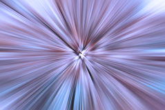 Explosive blue and purple background with radial blur Royalty Free Stock Images