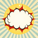 Explosive boom icon Stock Photo