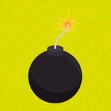 explosive cartoon design Royalty Free Stock Image