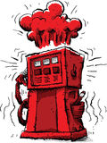 Explosive Pump Royalty Free Stock Image