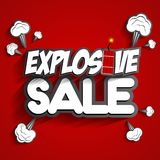 Explosive Sale Royalty Free Stock Photo