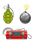 Explosive set Stock Image
