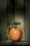 Explosiver Apfel Lizenzfreie Stockfotografie