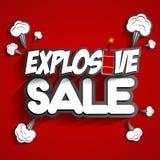 Explosiver Verkauf Lizenzfreies Stockfoto
