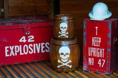 Free Explosives In Railway Carriage Stock Photos - 34333993